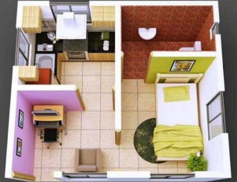 Desain Interior Rumah Minimalis Type 30 60