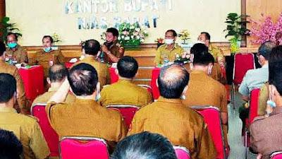 Pemkab Nias Barat Larang Pegawai Honor Daerah Rangkap Tugas