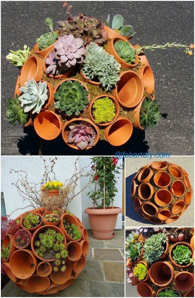 22 Genius Pot Planter Ideas For Decorate Small Garden