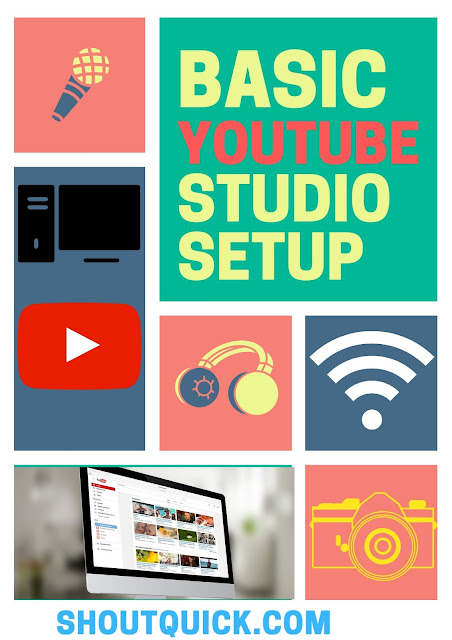 5 Things You Need to Build a Low-Cost YouTube Studio