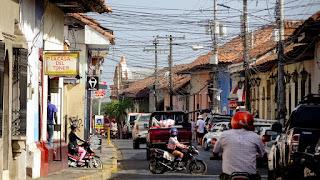 Traffic jam Nicaragua