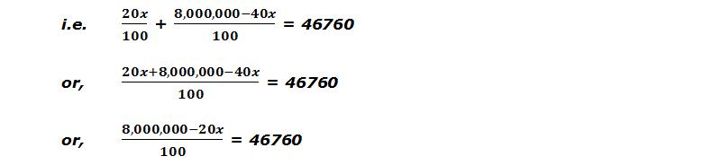 I1 + I2 = Rs. 46760