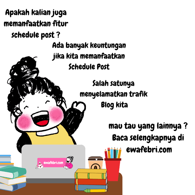 cara membuat schedule post