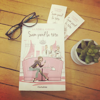 Photo du livre Sam perd la tête de Sandra Sirois, éditions Hurtubise