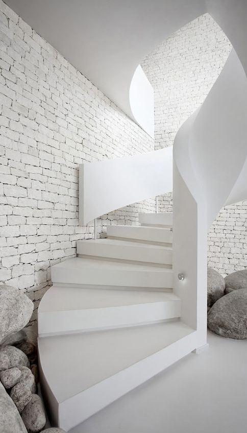 white home interior design