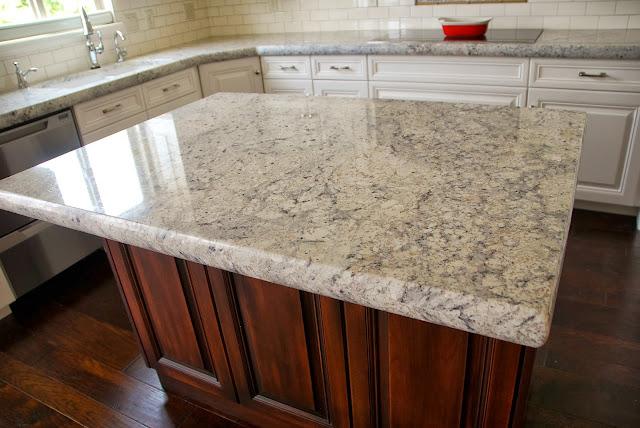The Granite Gurus Bianco Romano Granite Kitchen From Mgs