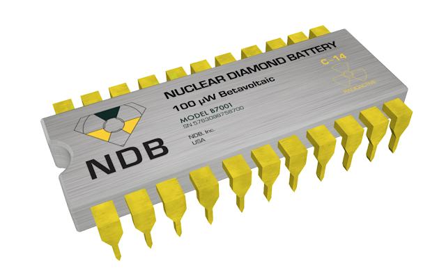 【科技】美國研究核廢料製電池 未來電話有 10 年續航力