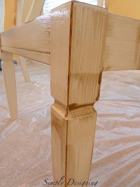 Glaze furniture 03a How to Refinish Furniture: Glazing 29