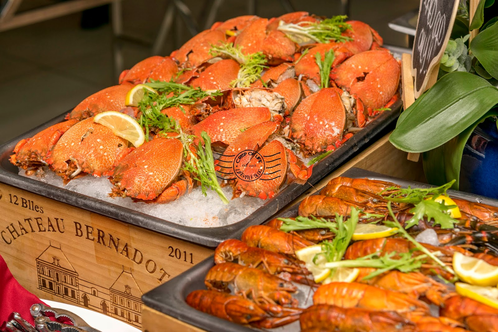 20% Discount for Iconic Hotel Surf & Turf Buffet Dinner with Code COL_STBD