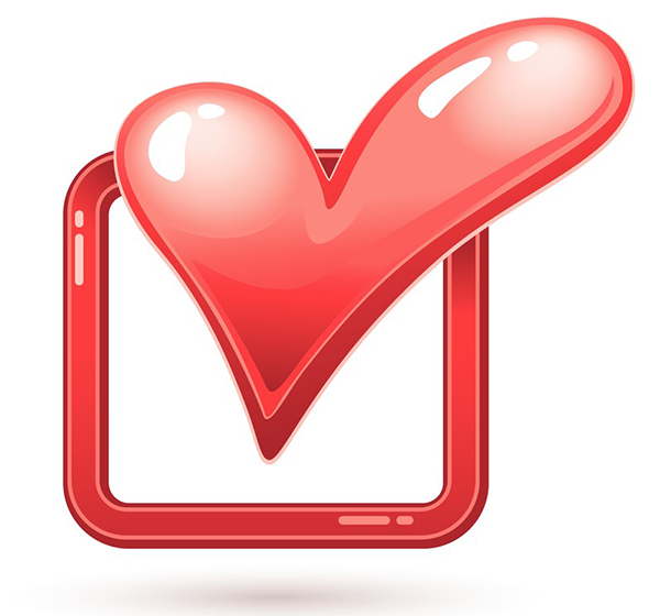 Check Box Heart