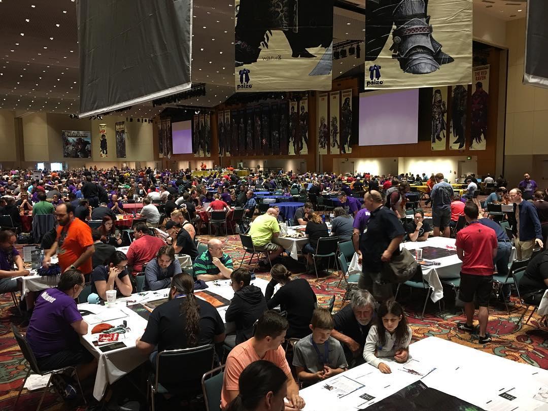 957de9f829 The Pathfinder ballroom at Gen Con 50