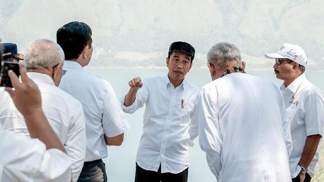 Presiden Jokowi Teken Perubahan Nama Kabupaten Toba Samosir Jadi Toba