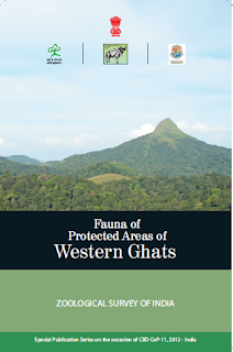 fauna of protected areas of Western ghats, free ebook front cover