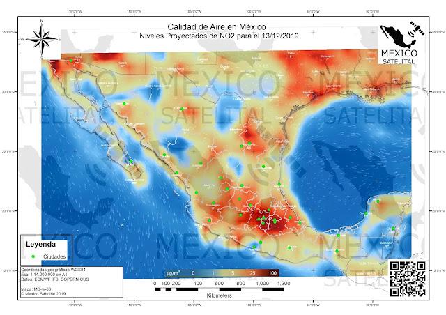 Calidad del aire en Mexico
