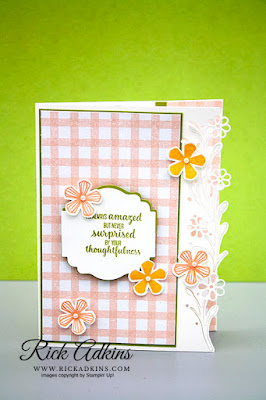 Rick Adkins, Stampin' Up!, The Spot, Thoughtful Blooms