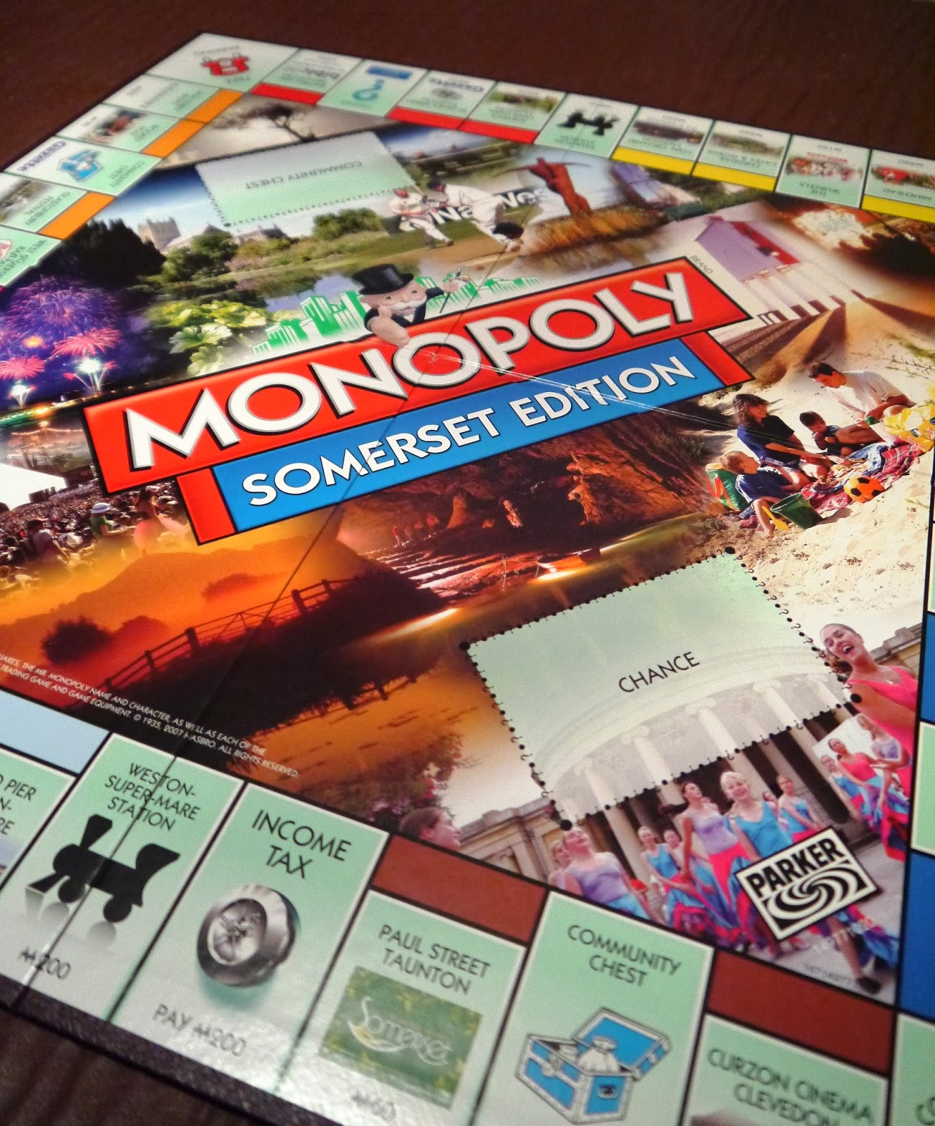 Somerset edition Monopoly