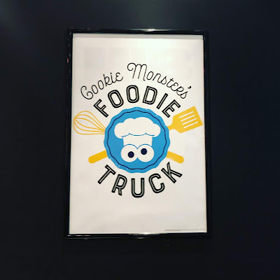 Cookie Monster's Foodie Truck Poster