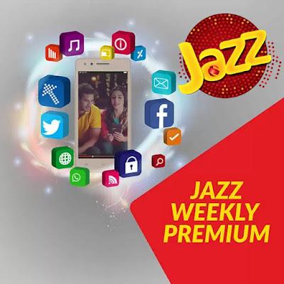 Jazz Weekly Premium internet Package Information