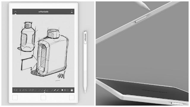 """reMarkable - chiếc """"máy tính bảng giấy"""" dùng để ghi chú, viết như giấy thật"""
