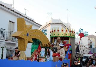 Horario e Itinerario de la Cabalgata de los Reyes Magos de Estepona (Málaga) 2019