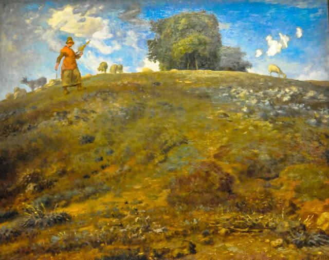 Жан Франсуа Милле - В Оверни. 1869