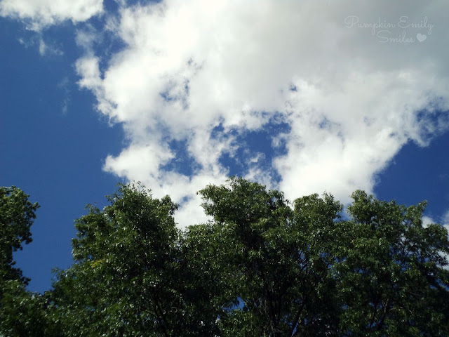 Cloud and a tree