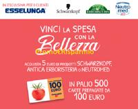 """Concorso """"Vinci la spesa con la bellezza 2020"""" : in palio 500 card da 100 euro"""