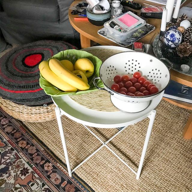 frukt, tomater, vardagsrum