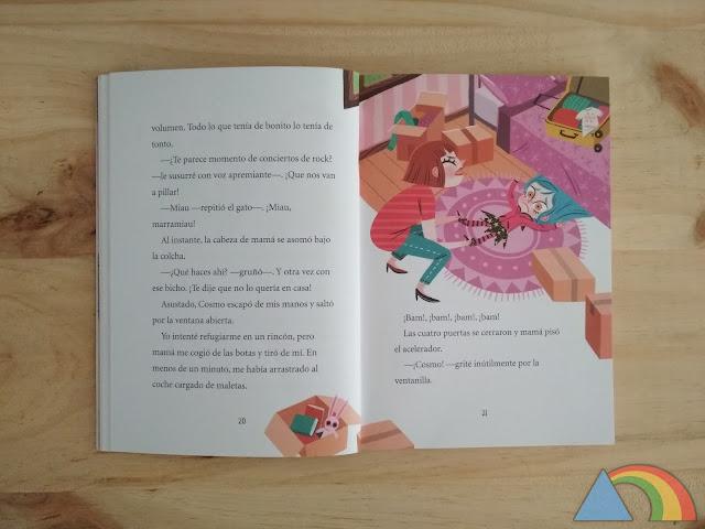 Interior del libro Anna Kadabra. El Club de la Luna LLena