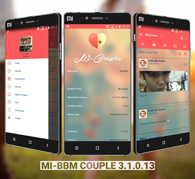 Mi BBM Mod Couple premium