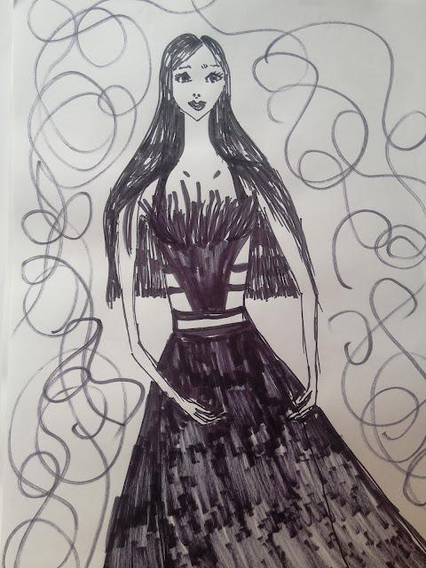 #modaodaradosti #marker #drawing