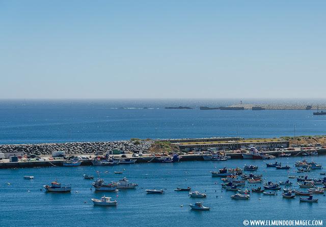 playas-del-alentejo. Puerto de Sines