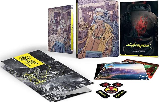Conheça as maravilhosas edições limitadas de Cyberpunk 2077
