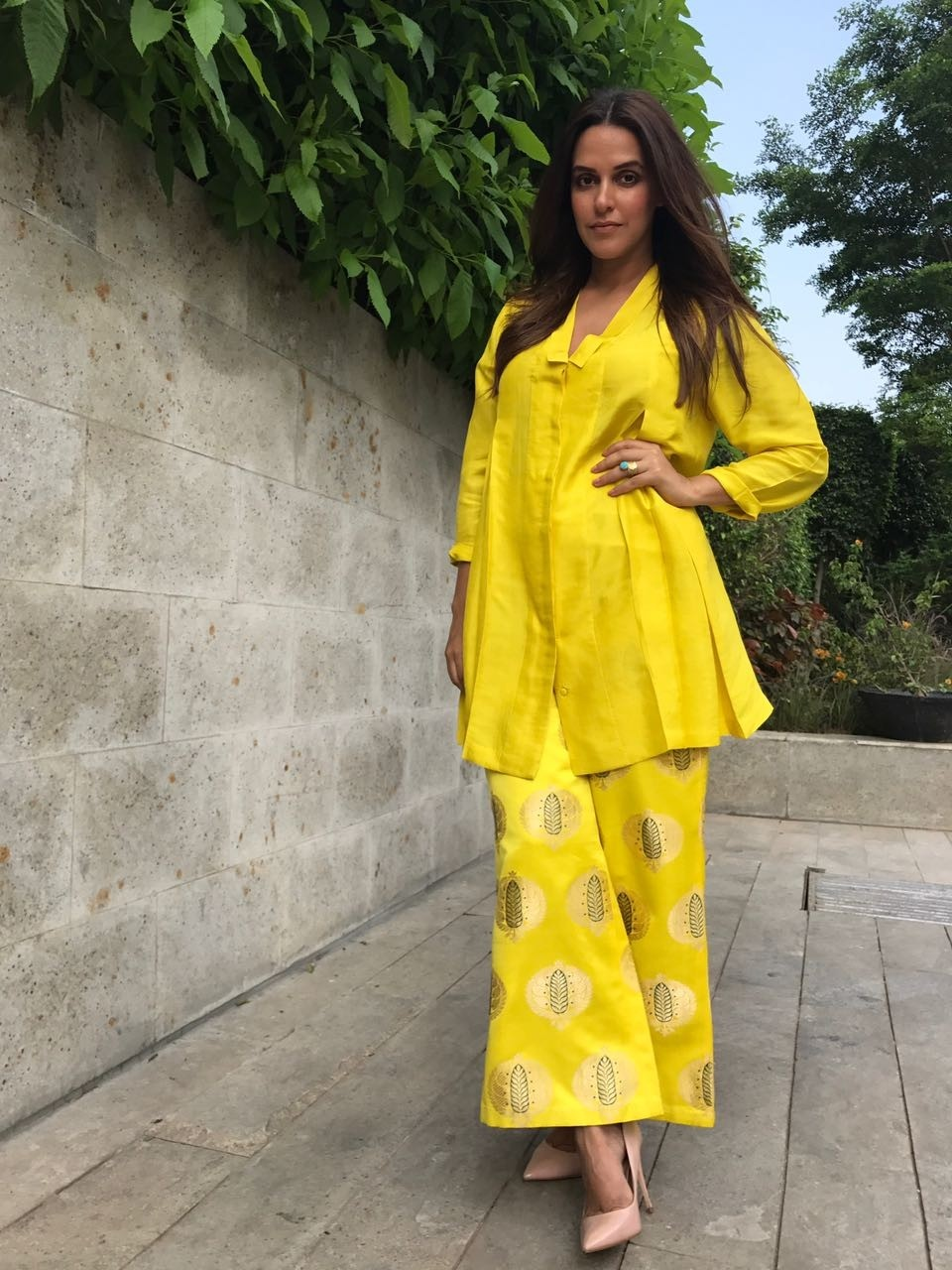 "Neha Dhupia Promotes ""#NoFilterNeha"" Season 2 in Chandigarh"