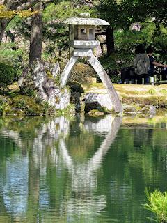 Kanazawa attractions: Kenrukuen Gardens