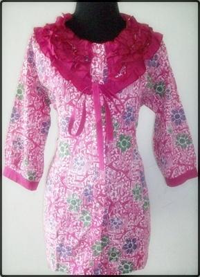 Kumpulan Contoh Model Baju Batik Perempuan