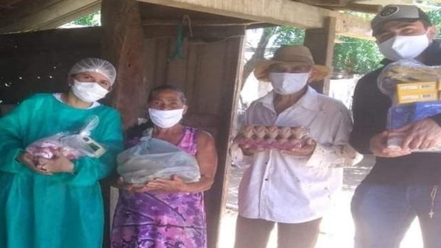 Secretaria de Ação Social realiza entrega de cestas nutricionais para idosos