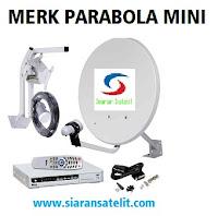 Merk Parabola Mini