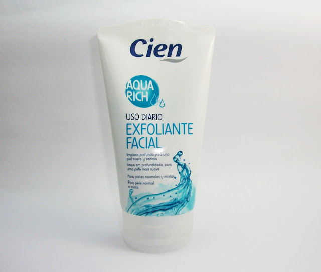 Esfoliante Facial Aqua Rich, Cien