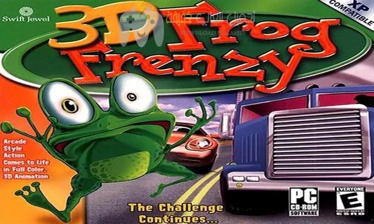 تحميل لعبة الضفدعة القديمة 3D Frog Frenzy للكمبيوتر برابط مباشر