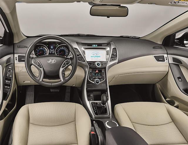 Hyundai Elantra 2016 - interior