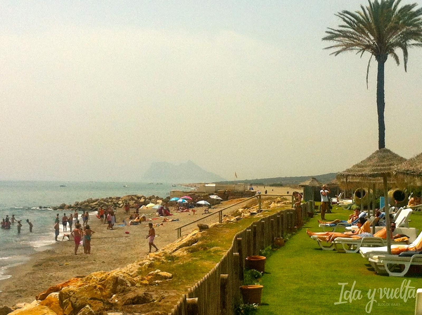 Hotel Almenara Sotogrande vistas de la playa