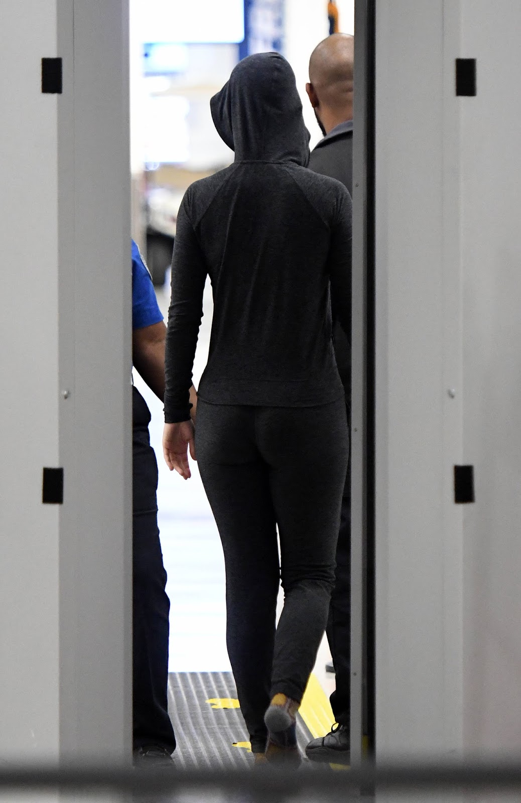 Katy Perry Booty at Miami International Airport