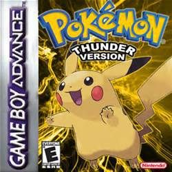 Pokemon Thunder Yellow gba