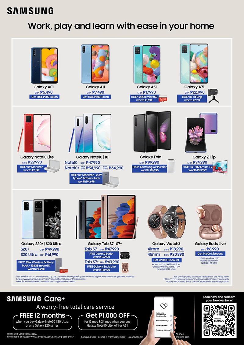 Samsung Blue Month Sale