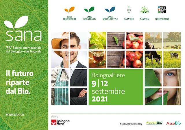 SANA 2021, Salone internazionale del biologico e del naturale
