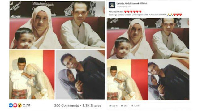 Pisah Rumah Sejak Mei 2016, UAS Tetap Nafkahi Mellya