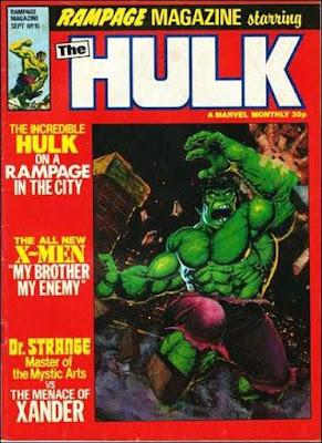 Rampage Magazine #15, the Hulk