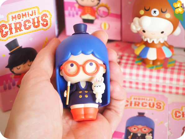 Momiji Circus - collaboration entre Momiji et Pop Mart