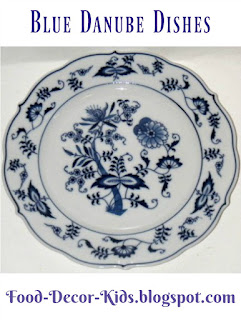 Blue Danube Dishes
